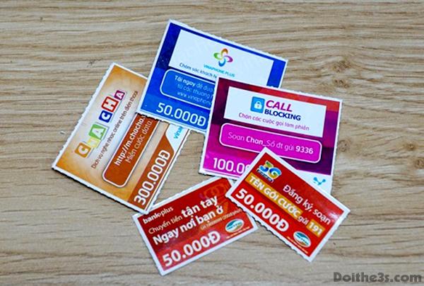 Tìm hiểu về dịch vụ đổi card trực tuyến tại Doithe3s.com
