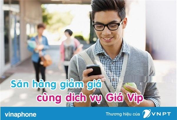 Lấy mã giảm giá dễ dàng hơn với dịch vụ giá VIP của vinaphone