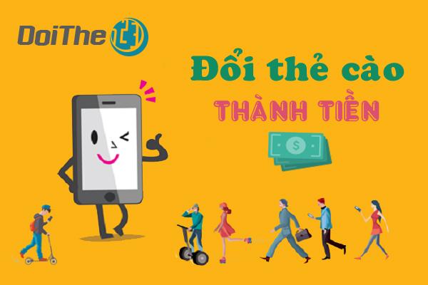 Lý do khiến bạn lựa chọn đổi thẻ cào thành tiền mặt tại doithe123.com