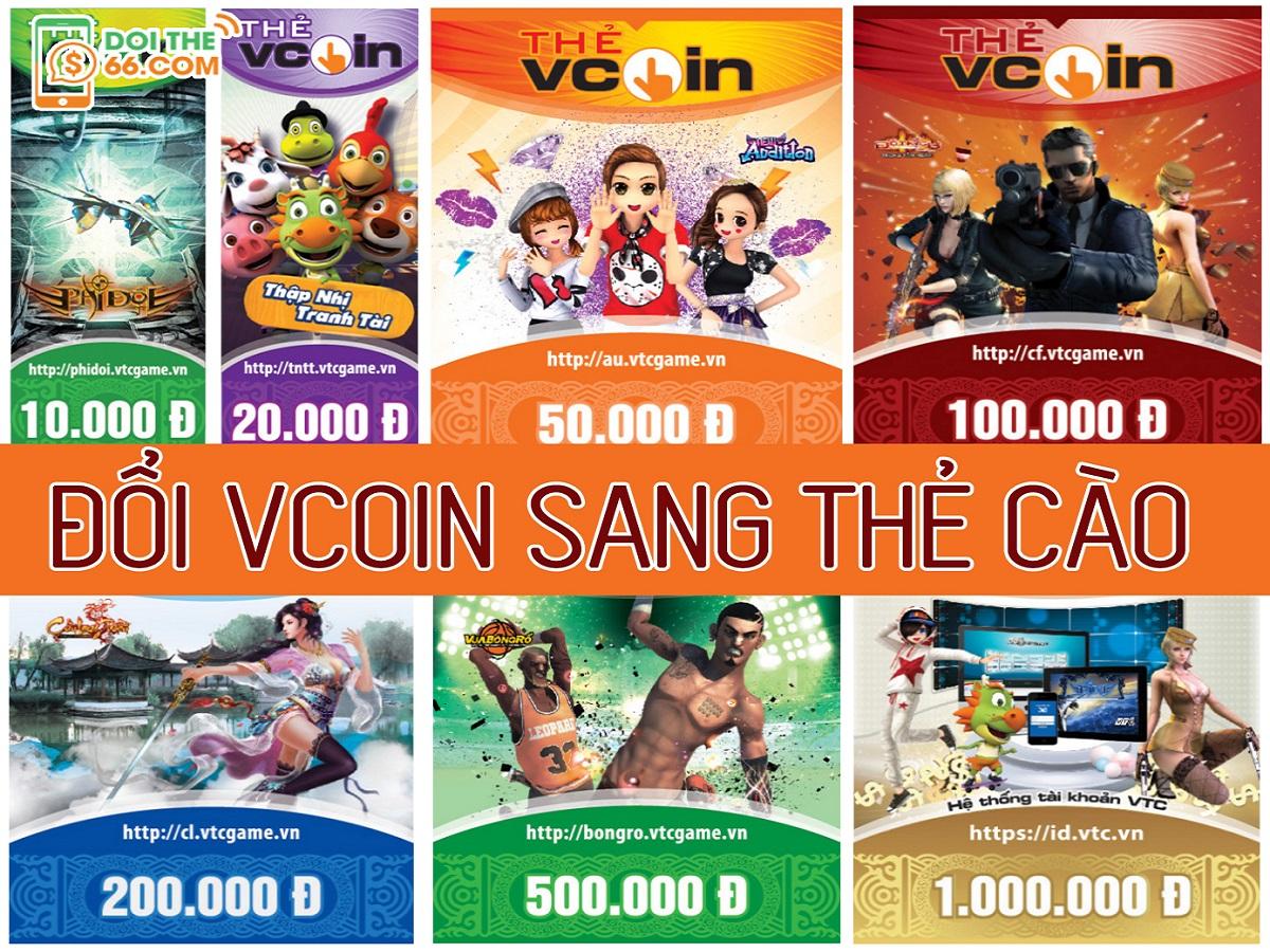 Tuyệt chiêu đổi Vcoin sang thẻ cào dễ dàng nhất