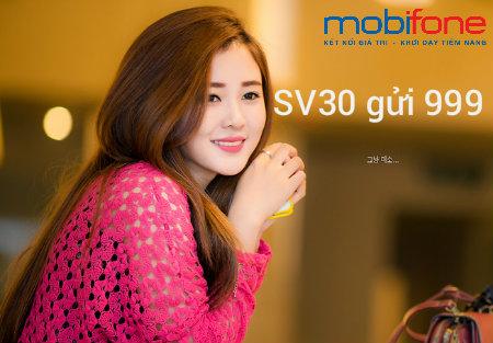 Ưu đãi 5 trong 1 hấp dẫn cùng gói cước SV30 của Mobifone