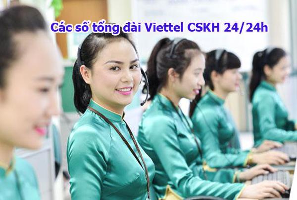 Tổng hợp các số tổng đài Viettel CSKH 24/24h