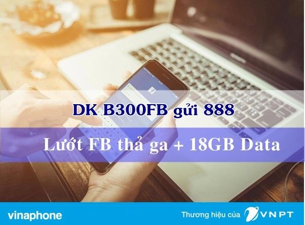 Bật mí cách đăng kí gói B300FB Vinaphone ưu đãi nhất
