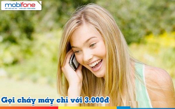 Các gói cước gọi nội mạng Mobifone chỉ 3.000đ/ngày