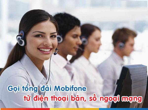 Cách gọi tổng đài Mobifone từ điện thoại cố định, số ngoại mạng
