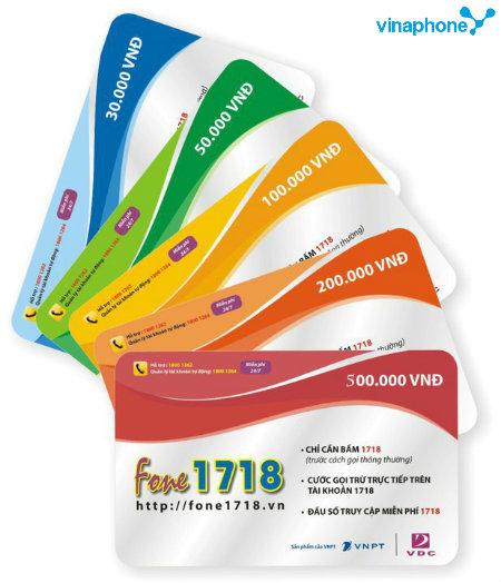 Cách đăng ký dịch vụ Fone1718 Vinaphone ưu đãi nhất hiện nay