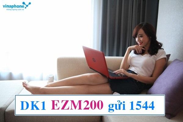 Hướng dẫn nhanh cách đăng kí gói EZMAX200 vinaphone