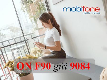 Nhận ngay ưu đãi 9GB Data cùng gói cước F90 Mobifone