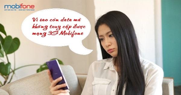 Cách truy cập mạng sau khi đã đăng ký 3G Mobifone