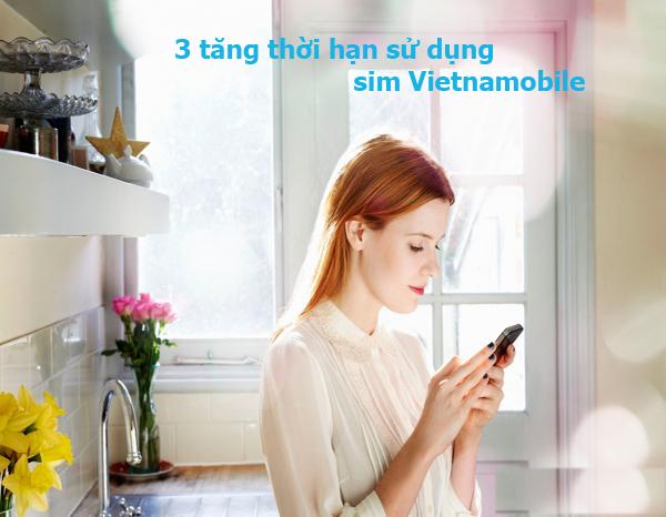 Bật mí cách tăng ngày sử dụng cho sim vietnamobile