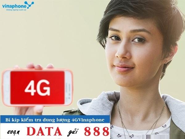Hướng dẫn nhanh cách kiểm tra dung lượng 4G vinaphone