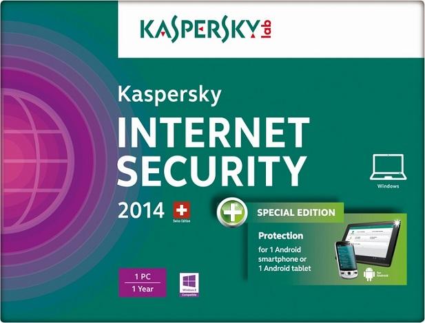 Nên dùng kaspersky antivirus hay internet security?