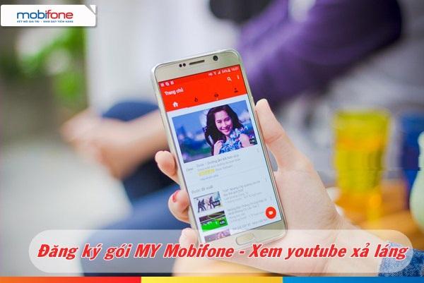 Bật mí cách đăng kí gói MY mobifone truy cập miễn phí  Youtube và FPT Play