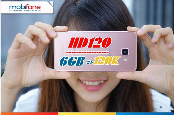 Hướng dẫn nhanh cách đăng kí gói 4G HD120 mobifone nhận tới 6GB / tháng
