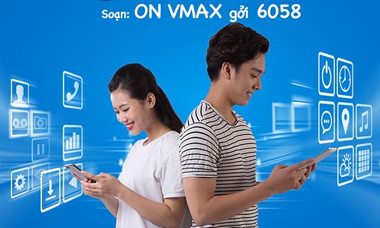 Ưu đãi gọi thoại 10 phút cùng gói cước Vmax Vinaphone