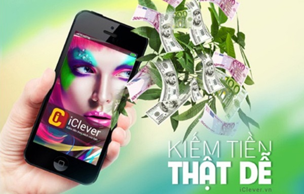 Kiếm tiền quảng cáo cự dễ với dịch vụ iClever Vinaphone