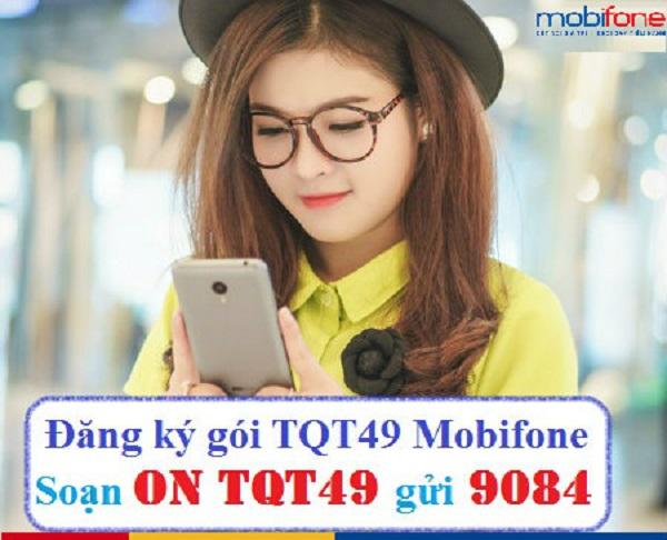 Ưu đãi 40 phút gọi miễn phí với gói cước TQT49 Mobifone