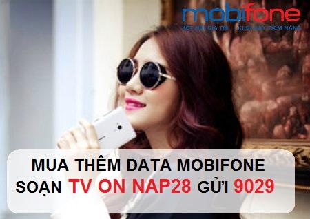 Hướng dẫn nhanh cách mua thêm dung lượng data 4G mobifone