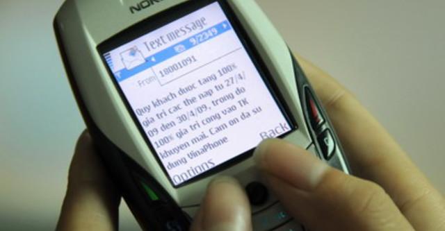 Lý giải tại sao không nhận được tin nhắn khuyến mãi của Vinaphone