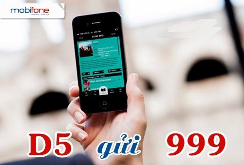Hướng dẫn nhanh cách đăng kí gói D5 mobifone ưu đãi nhất hiện nay