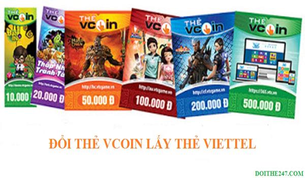 Thẻ Vcoin là gì? Cách đổi thẻ Vcoin sang thẻ Viettel đơn giản nhất