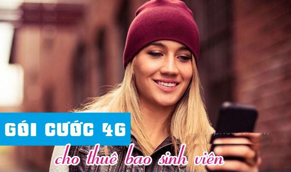 Những gói cước 4G Vinaphone sinh viên giá rẻ