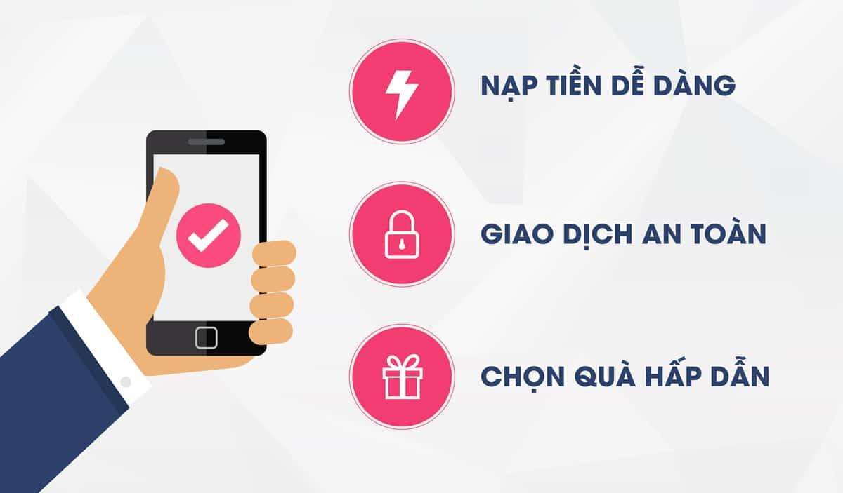 Hướng dẫn nạp tiền điện thoại online Techcombank thần tốc