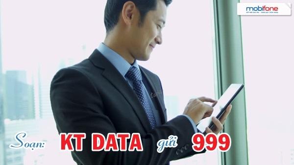 Hướng dẫn nhanh cách kiểm tra dung lượng 3G mobifone tốc độ cao
