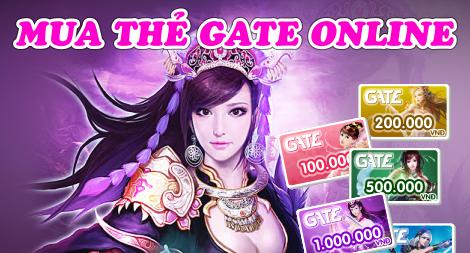 Cách mua thẻ Gate trực tuyến với giá cực rẻ