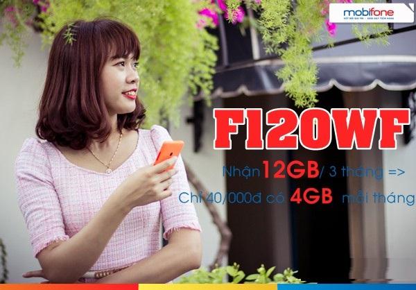 Hướng dẫn nhanh cách đăng kí gói F120WF Mobifone  nhận ưu đãi hấp dẫn nhất