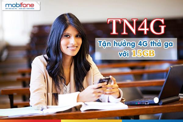 Đăng ký gói TN4G Mobifone nhận 15GB data miễn phí