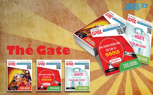 Mua thẻ Gate bằng tài khoản điện thoại sử dụng như thế nào?