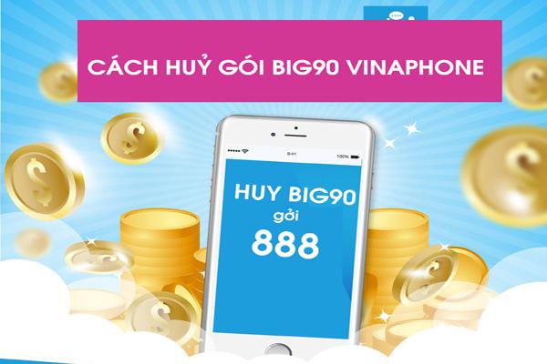 Hướng dẫn cách hủy gói Big90, Big120 Vinaphone qua tin nhắn SMS cực đơn giản