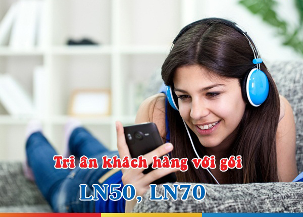 Ưu đãi sử dụng gói LN50 và LN70 Mobifone cho thuê bao lâu năm