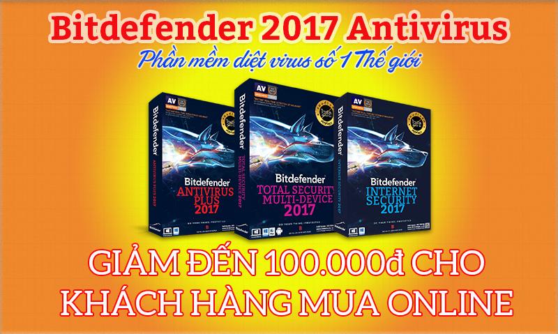 Mua Bitdefender online ở đâu chiết khấu ưu đãi nhất