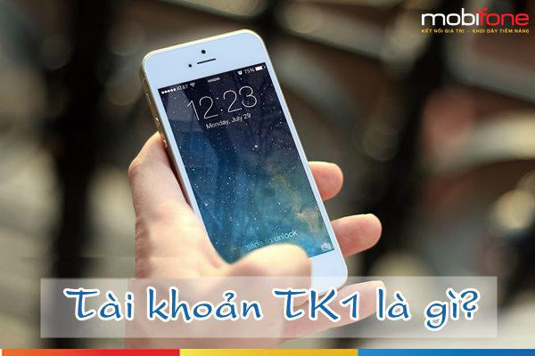 TK1 Mobifone - Tài khoản dữ trữ tiền cho thuê baoMobifone