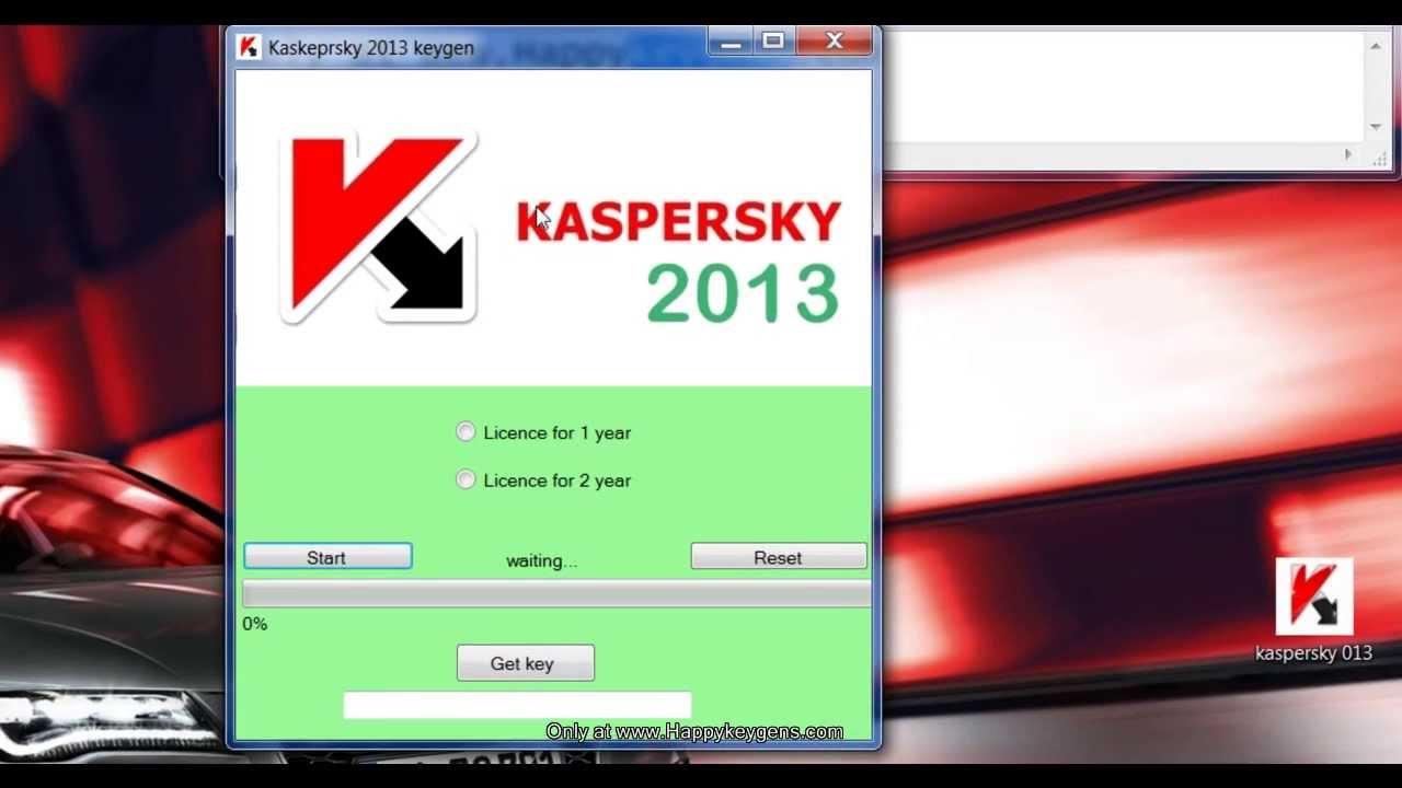 Thông tin cần biết để tải Kaspersky 2013