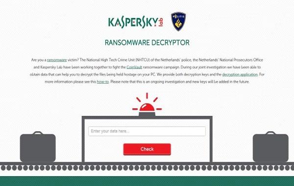 Các thông tin hỗ trợ Kaspersky.