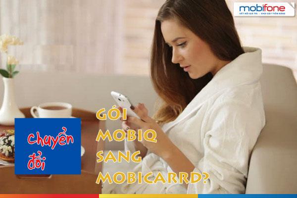 Mức cước phí chuyển đổi hình thức thuê bao Mobifone trả trước