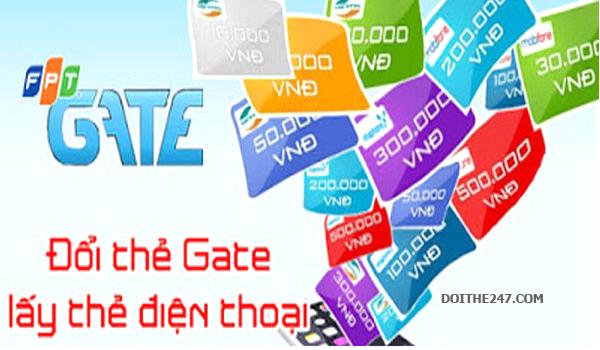 Hướng dẫn đổi thẻ Gate sang thẻ điện thoại đơn giản nhất