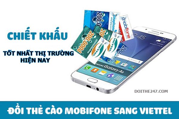 Cách đổi thẻ Mobifone sang thẻ Viettel dễ dàng nhất