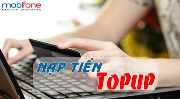 Hướng dẫn nạp tiền Topup Mobifone nhanh nhất