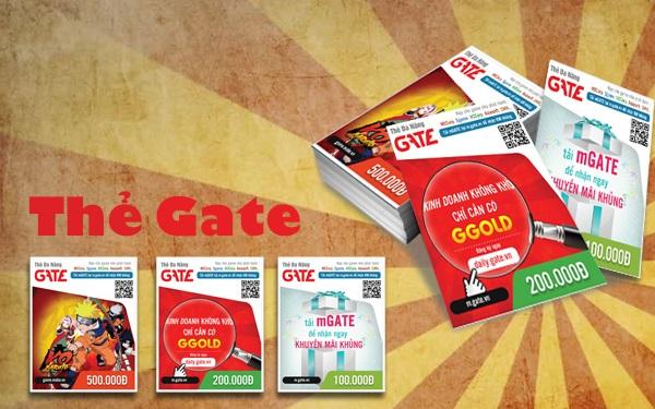 Thông tin về cách mua thẻ Gate online giá rẻ tiện lợi nhất tại Hà Nội