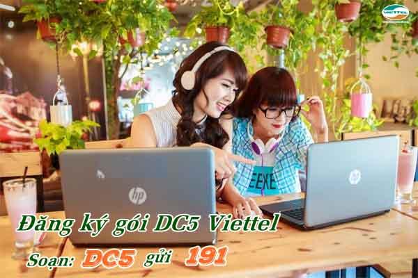 Chỉ 5k/ngày đăng ký gói MT5C Viettel nhận 3GB miễn phí