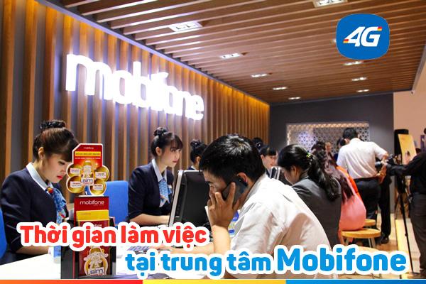 Check in giờ làm việc của cửa hàng Mobifone trên toàn quốc