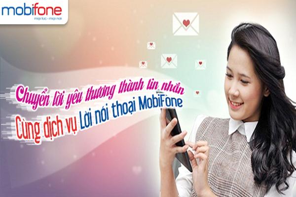 Đăng ký sử dụng dịch vụ lời nhắn thoại 1525 Mobifone