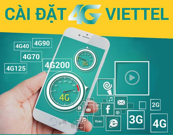 Làm sao để cài đặt 4G Viettel cho điện thoại?