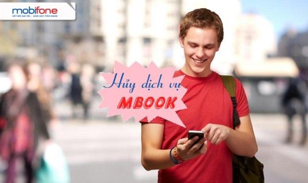 Hướng dẫn hủy nhanh dịch vụ mBook qua sms Mobifone