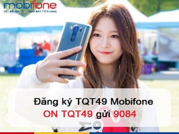 Ưu đãi 40 phút gọi ra nước ngoài khi đăng ký gói cước TQT49 Mobifone