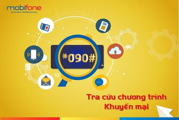 Làm sao để tra cứu khuyến mãi Mobifone qua cú pháp *090#?
